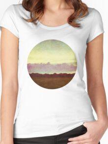 horizon horizon Women's Fitted Scoop T-Shirt
