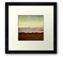 horizon horizon Framed Print