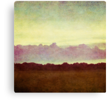 horizon horizon Canvas Print
