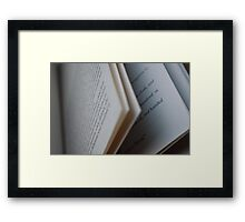 The Stories They Tell Framed Print