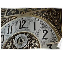 Clock Face Two Poster