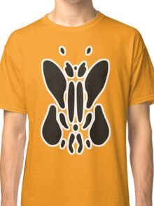 Rorschach Ink Blot Test - White border. Classic T-Shirt