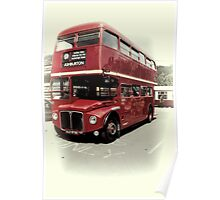 Routemaster Poster