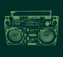Another Boom Box Shirt by Kirk Shelton