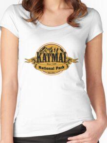 Katmai National Park, Alaska  Women's Fitted Scoop T-Shirt