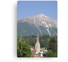 Reaching For The Top: Austria Canvas Print