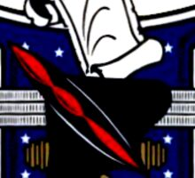 Test Pilot School (USNTPS) Crest Sticker