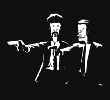 Beavis and Butthead Pulp Fiction by Aquilius