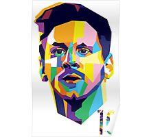 Messi ART Poster