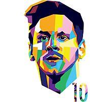 Messi ART Photographic Print