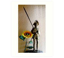 Don Quixote III Art Print