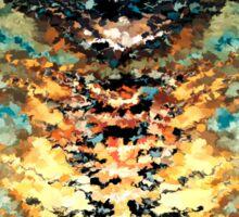 modern composition 15 by rafi talby Sticker