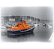 Brixham Lifeboat Poster