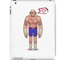 SAGAT iPad Case/Skin