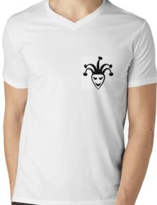 Joker - Justin Bieber Tattoo Mens V-Neck T-Shirt