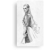 Tauriel Canvas Print