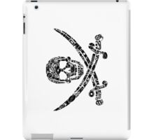 Pirate Service Announcement - Black iPad Case/Skin