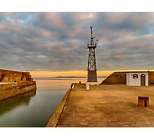 LOSSIEMOUTH HAROUR EXIT AND CULLEN Photographic Print