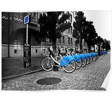 Bicycles for rent in Gothenburg Poster