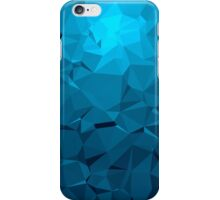 Geometric Blue iPhone Case/Skin