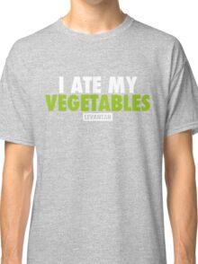 I Ate My Vegetables (White) Classic T-Shirt