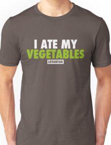 I Ate My Vegetables (White) Unisex T-Shirt