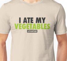 I Ate My Vegetables (Black) Unisex T-Shirt