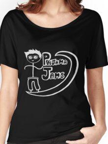Pajama Jams Logo #1 - Eugene Style, White Version Women's Relaxed Fit T-Shirt
