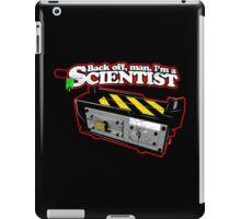 Back off, man. I'm a scientist. iPad Case/Skin