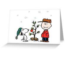 A Charlie Brown Christmas Greeting Card