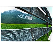 Mountains of Innsbruck Poster