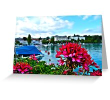 Flowers in Switzerland Greeting Card