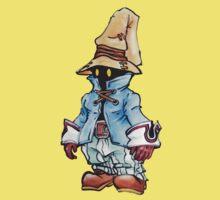 Final Fantasy 9 Vivi in Pastel &Colour Pencil Kids Clothes