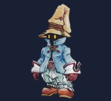 Final Fantasy 9 Vivi in Pastel &Colour Pencil by KanjiSamurai