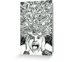 Exploding Head Greeting Card