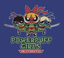 POWERPUFF GIRLS MUTANTS by Fernando Sala