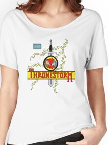 Thronestorm Women's Relaxed Fit T-Shirt