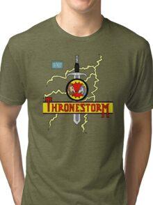 Thronestorm Tri-blend T-Shirt