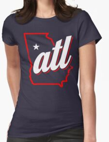 atl Womens Fitted T-Shirt