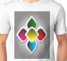 Colorful Arabic Style Design Unisex T-Shirt