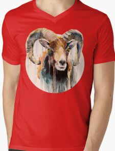 Ram Mens V-Neck T-Shirt