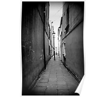 The hidden alley  Poster