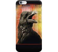 crow speaks iPhone Case/Skin