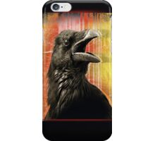 crow speaks iPhone Case/Skin