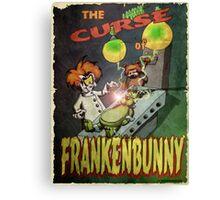 Frankenbunny Canvas Print