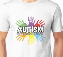 Autism: support, educate, advocate. Unisex T-Shirt