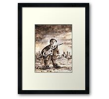 Muddy Waters in Chicago Framed Print