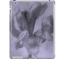 Textured Tulip - JUSTART ©  iPad Case/Skin