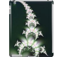 White Flower Sprig iPad Case/Skin