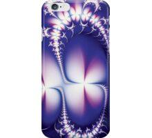 Luminescent White Flowers iPhone Case/Skin